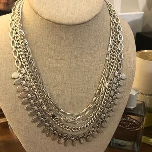 Stella & Dot Jewelry - Stella and Dot Silver Sutton necklace